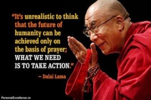 action-not-prayer